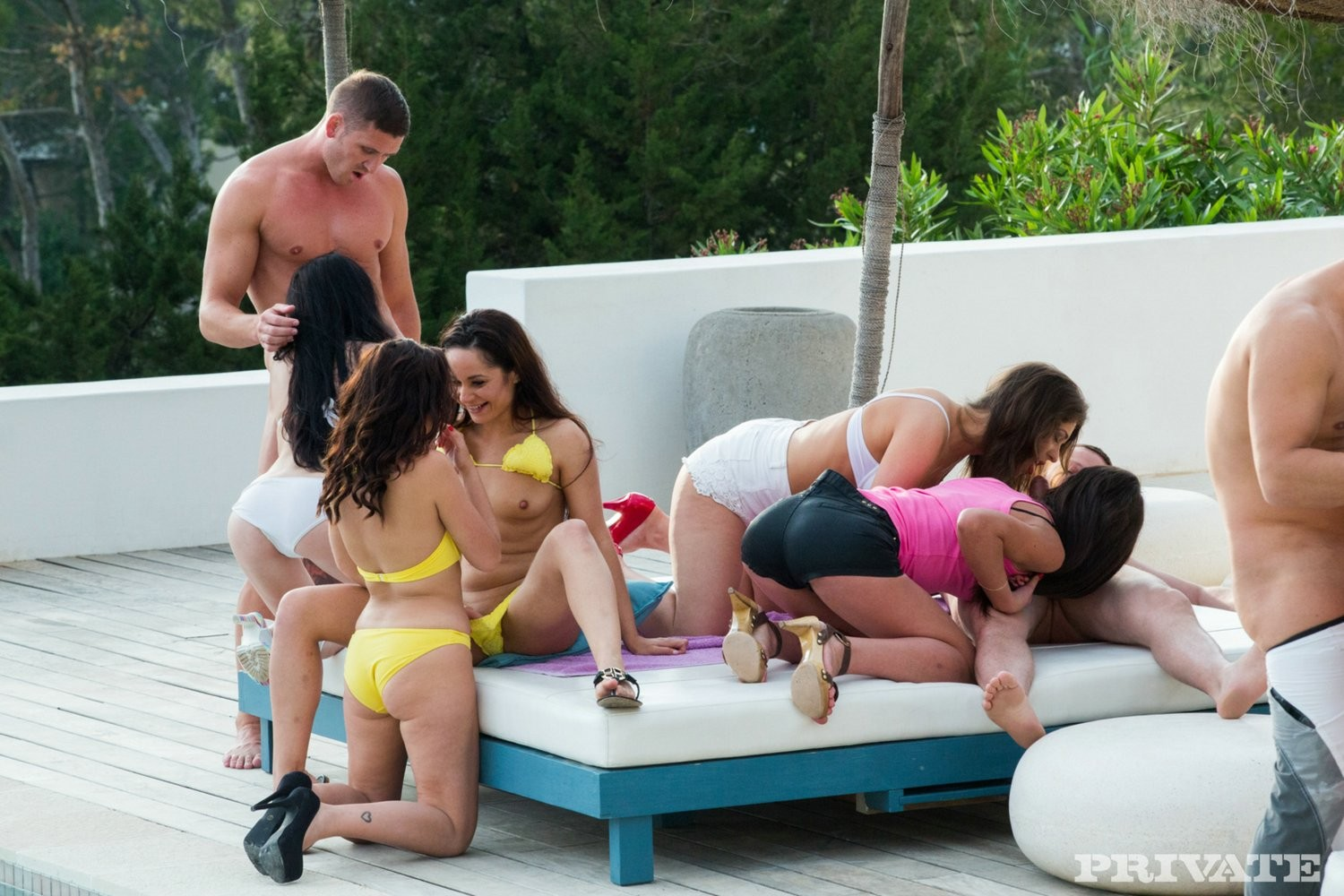 Anissa kate smoking in a real european sexual act get-together