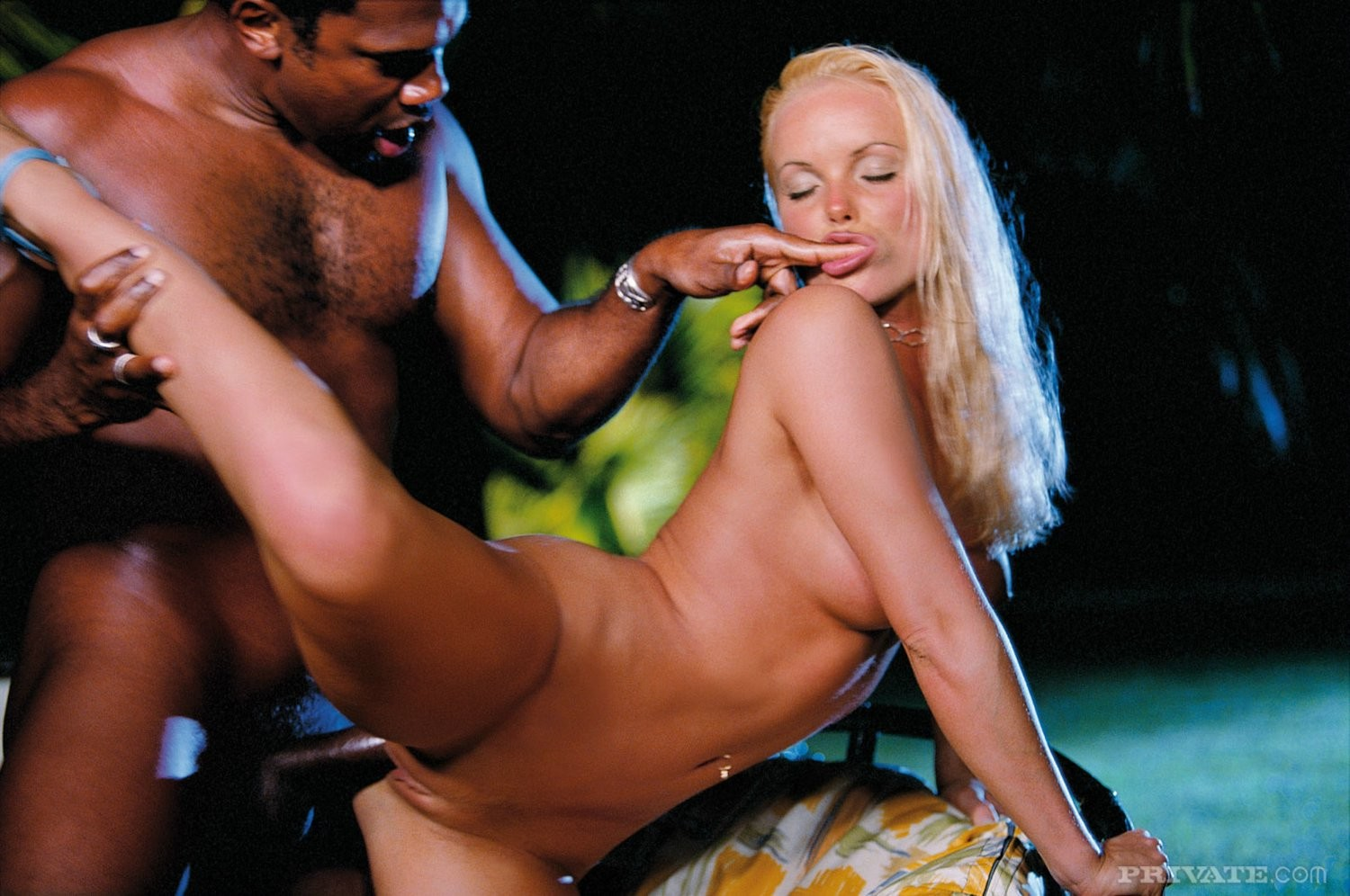 Fairy-haired bombshell silvia saint bonked by black in enter gate