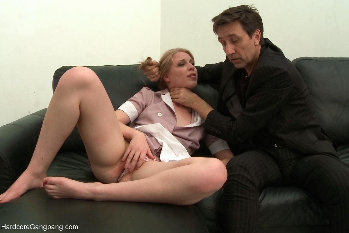 18yr old woman servant gets punished by boss