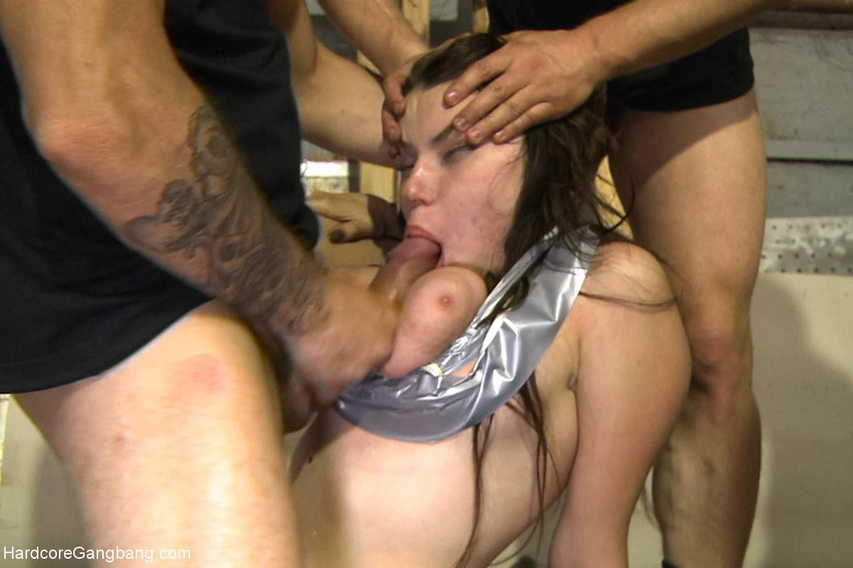 Immense titted Teenage year old russian bitch gains team-banged for the number 1 time double pe