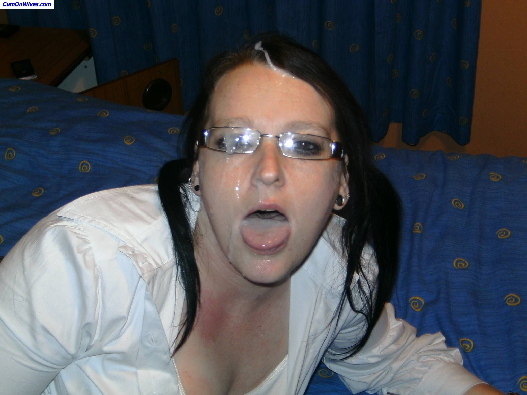 Lewd and skanky milf amateurs love blowjobs