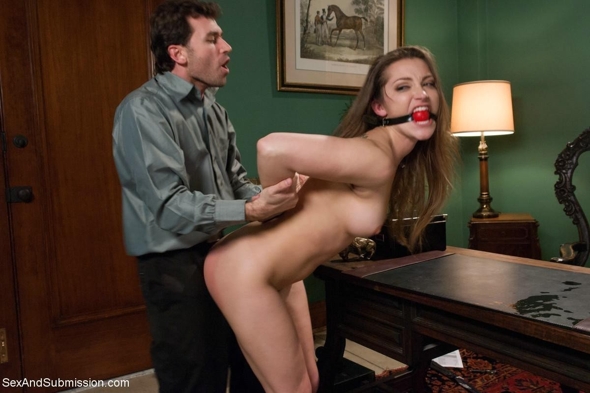 Elegant queen broken down to sniveling bond fuck courtesan