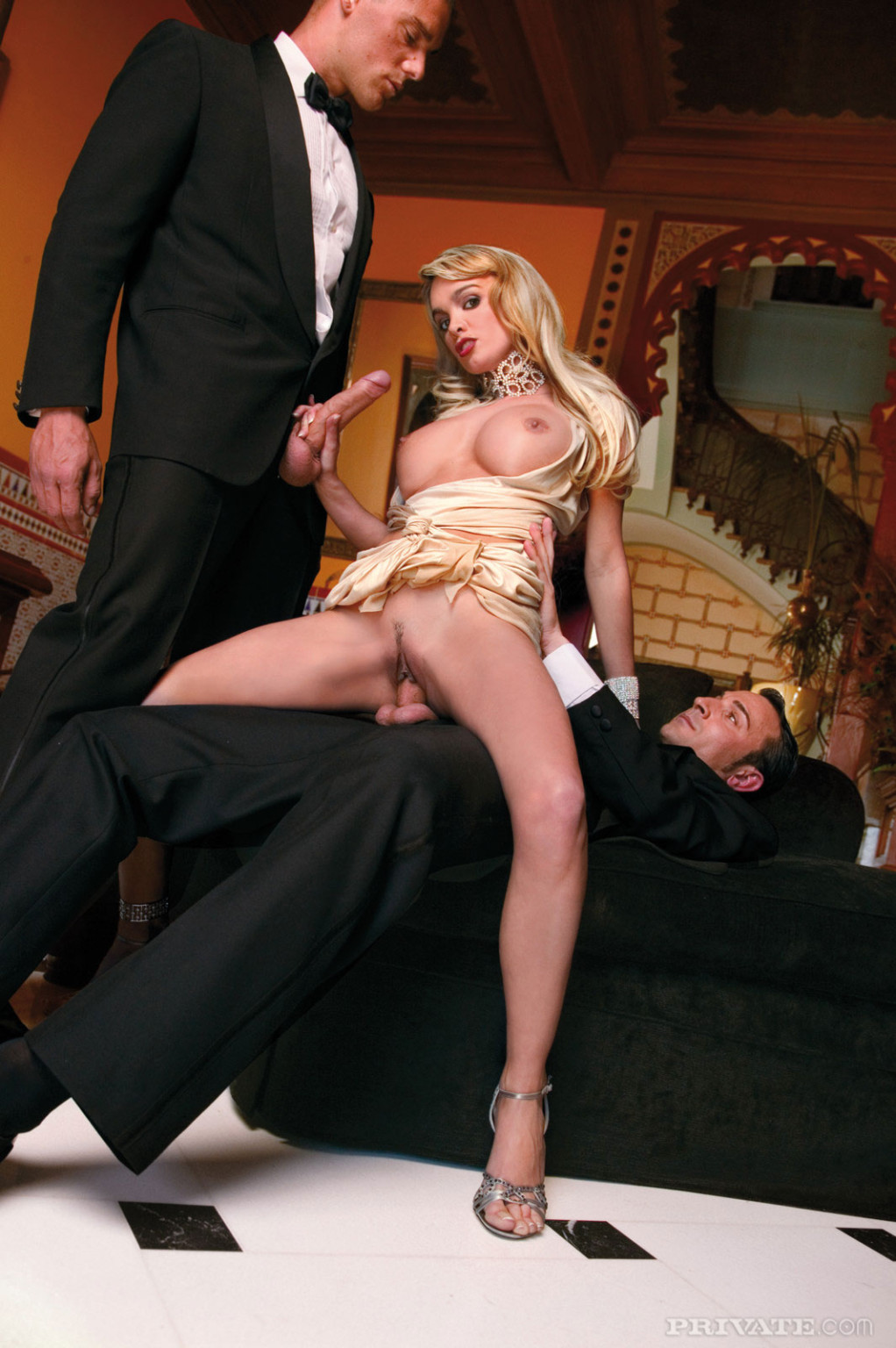 Alluring fairy virginie caprice penetrated by concealed agents