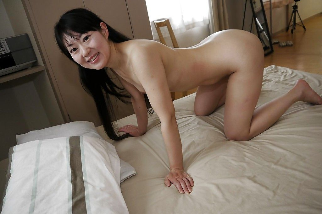 Japanese Milf chicito Ayane Ikeuchi posing in schoolgirl uniform and hose