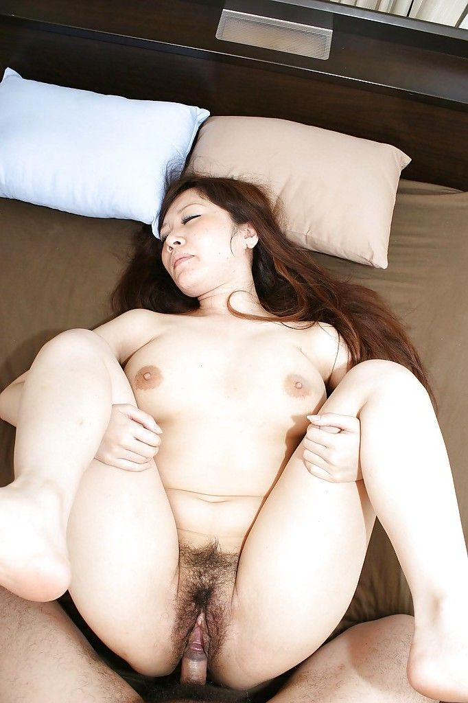 Chinese juvenile Rie Noguchi gives head and obtains her  fur pie cocked up