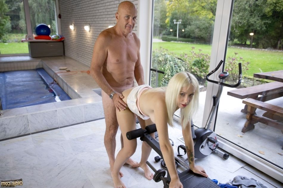 What looked like a quiet day at the gym for this old man, ended with tough fuck, foremost cocksucking and sperm eat in a moist old and youthful porn motion picture staring bawdy juvenile Arteya and her much much loved Oldje, we suggest a masterpiece of gr