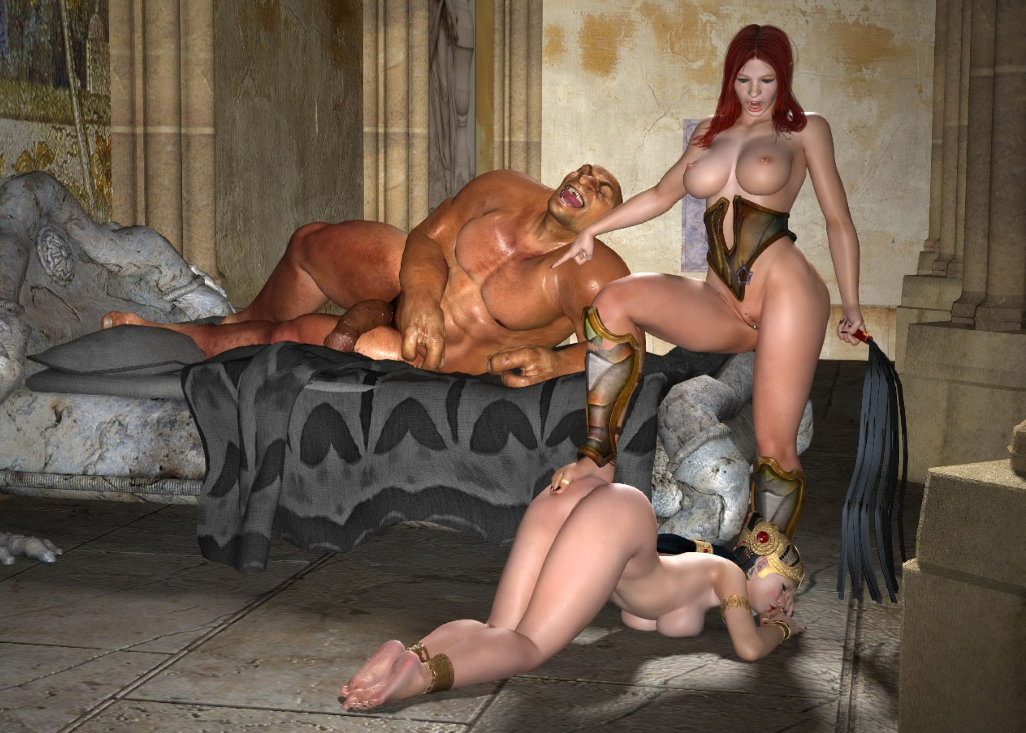 All kinds of passionate fairy-haired creatures and lecherous thug fucking action madness