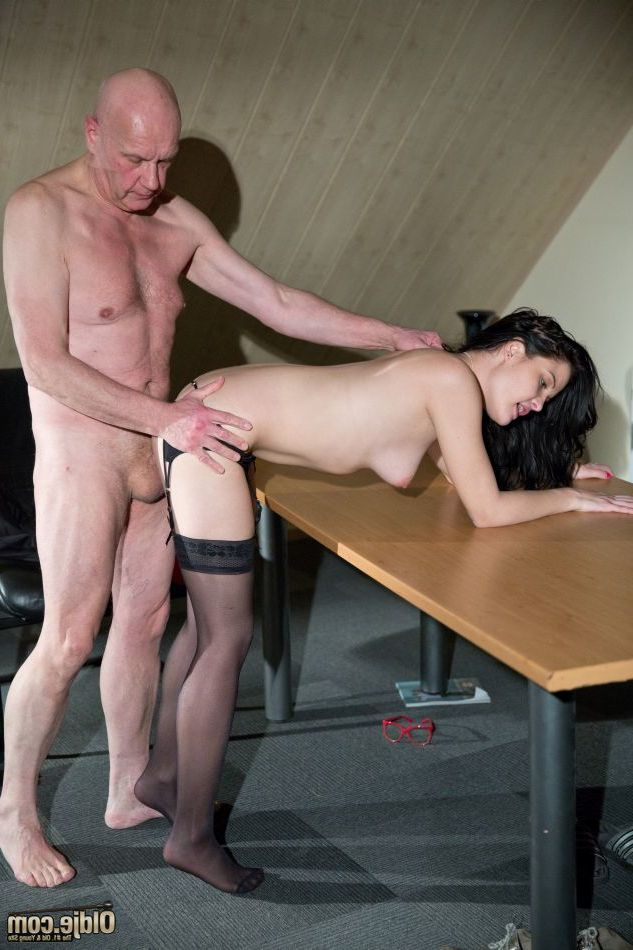 When we bring simultaneously a unconventional grandpa and a astonishingly perspired babe, there\'s purely one average thing that can happen: fuck, fuck and greater quantity fuck! Stunningly spectacular infant lady Diore, is known as a respectable police in