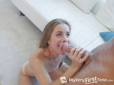 Tanned Lily Ford sucks a snake in sloppy POV scenes in anticipation of facialized
