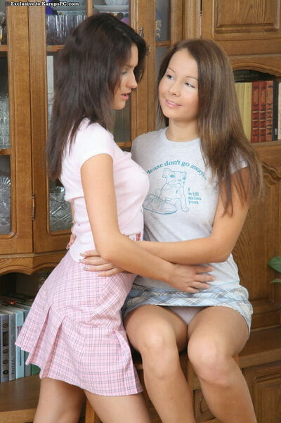 Amateur angels have their number 1 lesbo act of love tang in investigation