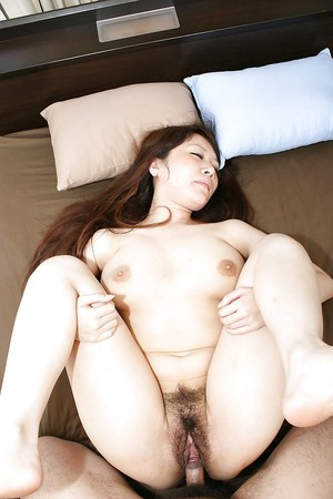 Chinese adolescent Rie Noguchi gives head and purchases her furry cage of love cocked up