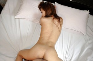 Saucy oriental young Michie Maruo acquires her wet crack plugged and creampied