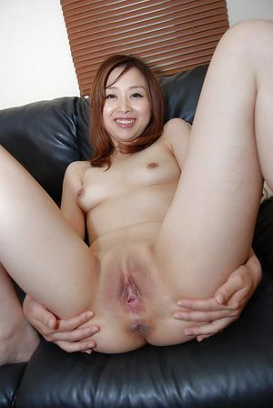 Mariko Miyazawa obtains her shaved pussy licked and filled with a toy dick