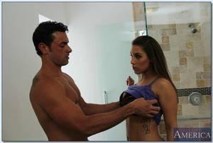 Titsy latin chick doll Natasha Vega obtains her wet crack licked and penetrated hardcore