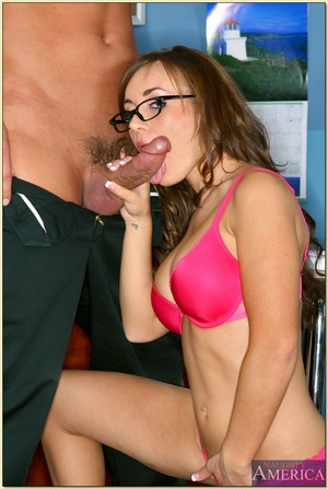 Sexual coed with enormous meatballs Jaclyn Exemplar impaled on massive meat in the form
