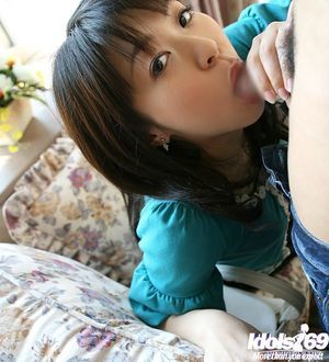 Slutty oriental hotty gives a oral sex and gets her shaggy bawdy cleft nailed