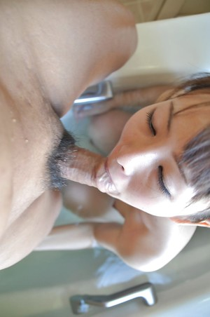 Japanese infant Ayaka Oda gobbles a intense knob and acquires her hairy uterus nailed