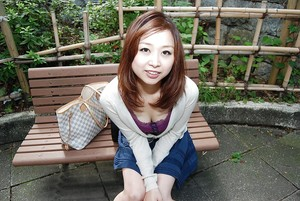 Cheery oriental young Mariko Miyazawa getting bare and delightsome bath