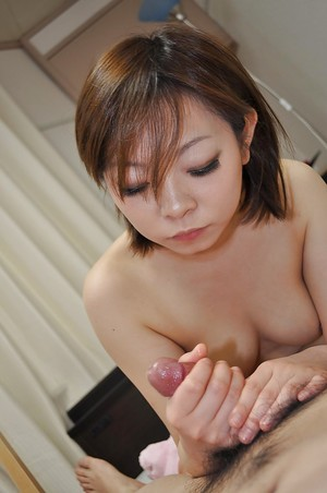 Eastern amateur Chika Matsura benefits from her bushy pussy nailed and creampied