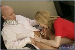 Extreme college babe Lily LaBeau seduced her teacher for hardcore very