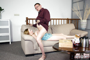 Boobsy young angel with pigtails Marloes B attains fucked by an elder fellow