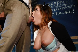 Live fucking scene features massive billibongs young schoolgirl Karmen Karma