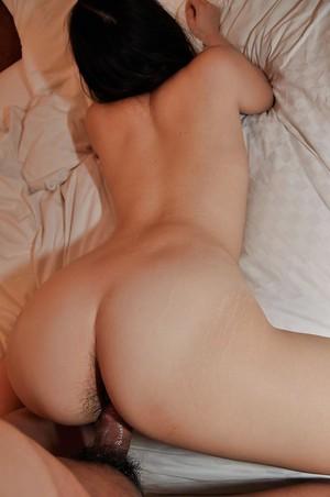 Japanese young Mina Terashima gives a fleshly cocksucking and benefits from nailed