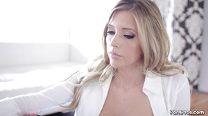 Pics of adolescent hotty Samantha Saint looking mightily advisable in cylinder