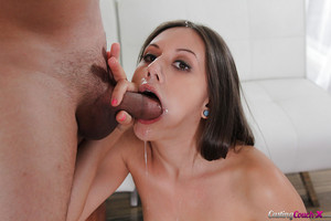 Infant young Lucy Hotty taking hardcore shaved bawdy cleft hammering and ejaculation