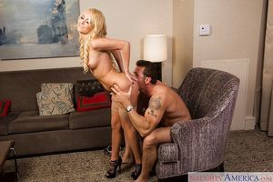 Coed adolescent Aaliyah Love enjoys having her muff licked and fucked