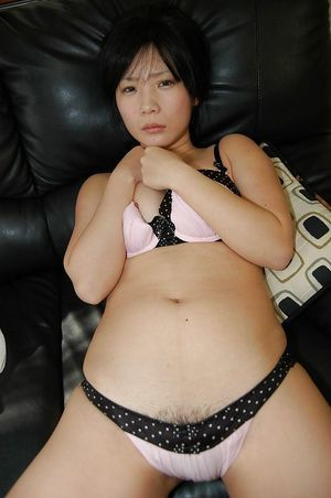 Shy asian juvenile undressing and teasing her love-cage below her strings