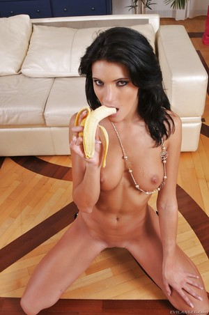 Juvenile anal courtesan Milla Yul sucks and makes love a big tough dick