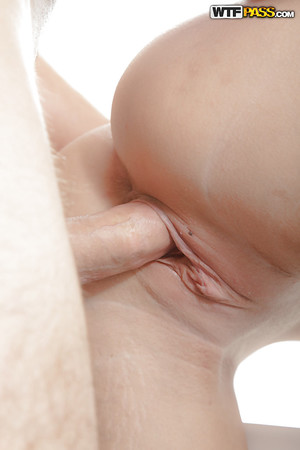 Young fairy-haired Raphael has her pussy licked and then fucked hardcore