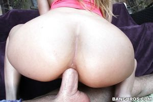 Young beauty Jillian Janson was screwed vast in her anal space