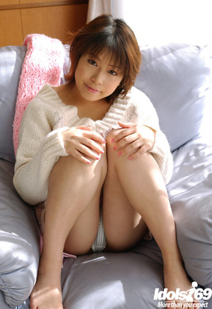 Largest busted asian babe Mai Haruna erotic dancing and licking her tough boob points