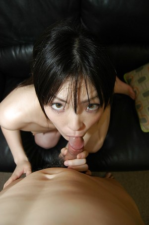 Slutty Chinese amateur Yuka Nagase gives head and purchases her smooth head cunt boned-up