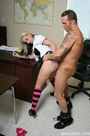 Schoolgirl with vast milk sacks Riley Follow accepts her wet crack limber