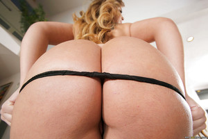 Latin cutie youthful Klara Gold bares petite tits and big round apple bottoms