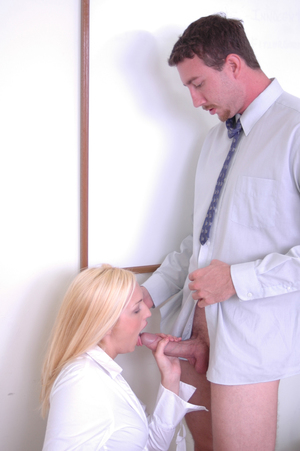 Alluring fairy schoolgirl cunt Katie eating a cum flow and a knob