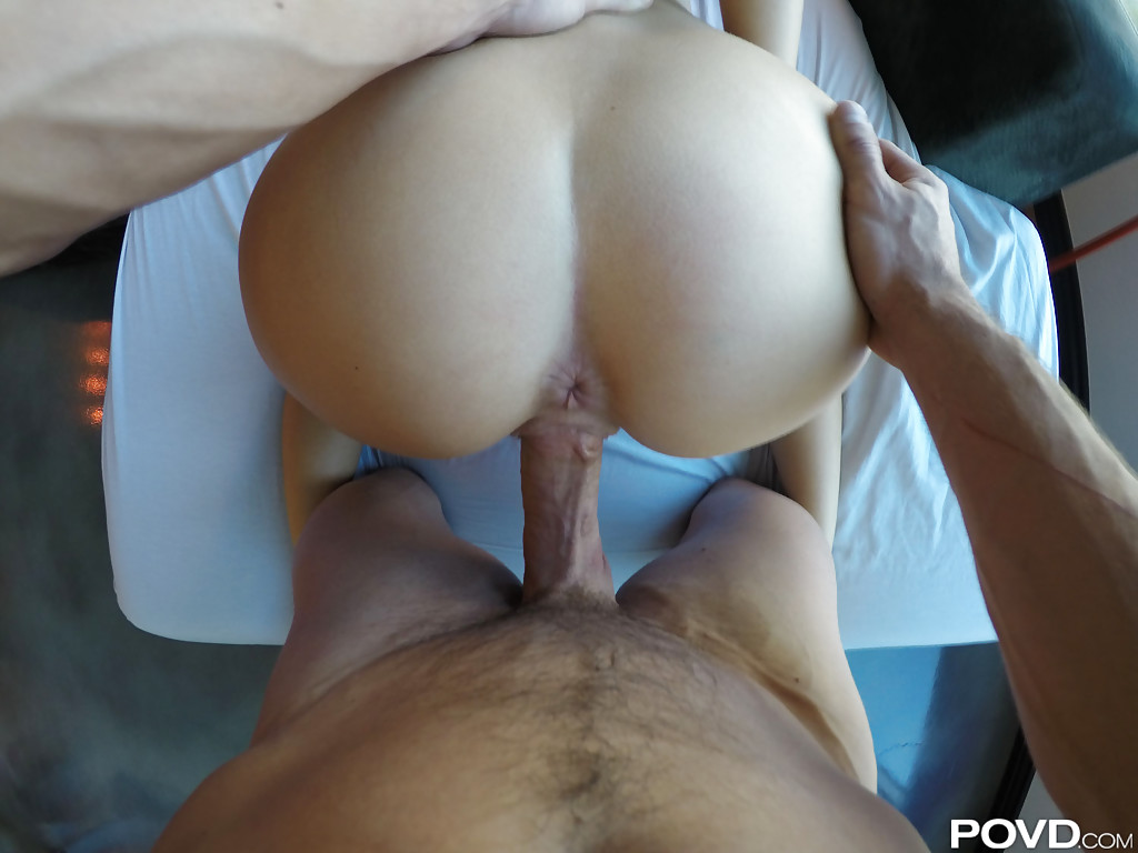 Sweet babe Alexis Adams is riding on the pretty big long prick