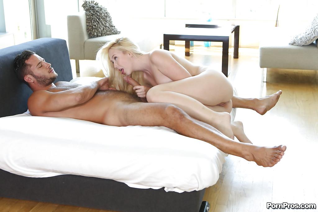 Teen girlfriend Samantha Rone enjoys big cock inside of her holes