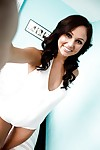 Young amateur lass Ariana Marie looks unquestionably frisky in underclothes