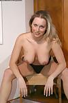 Undressing scene with elegant adolescent queen Pavla showing anus