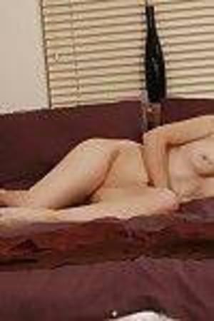 Adolescent hotty Michelle Hot has a rigid uterus beneath that white petticoat