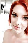 Gregarious amateur teen Rainia Belle attains amiable with weighty bone