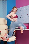Teen juvenile beauty Kloe Kane is widening her floppy release pressure flaps