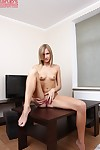 Bawdy amateur sweetheart Polina is a adolescent who shows that babe isn\'t timid
