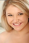 Spectacular young blond hotty Kali loves to strip off her cruel uterus