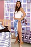 Sensitive adolescent young doll Martina is a dom notch seductive model