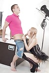 Blonde chicito Cherry Chicito allows amateur dude sub to bonk her constricted anus